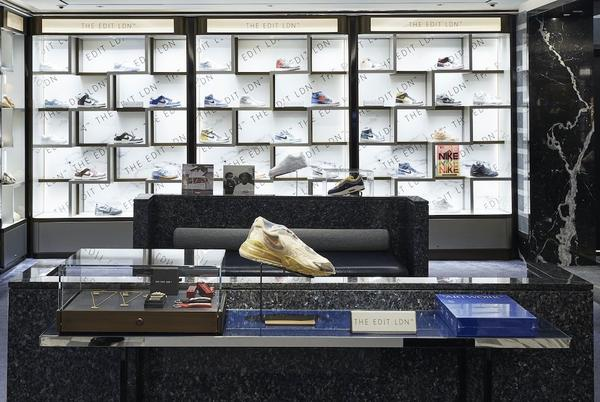 Picture for Why Harrods Is Betting on Customers Dropping Hundreds on Resold Luxury Sneakers