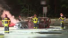 Cover for 3 taken to hospital after fiery wrong-way crash on I-95 in Reading