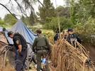 Picture for Santa Cruz police arrest more than two dozen during operation at homeless encampment
