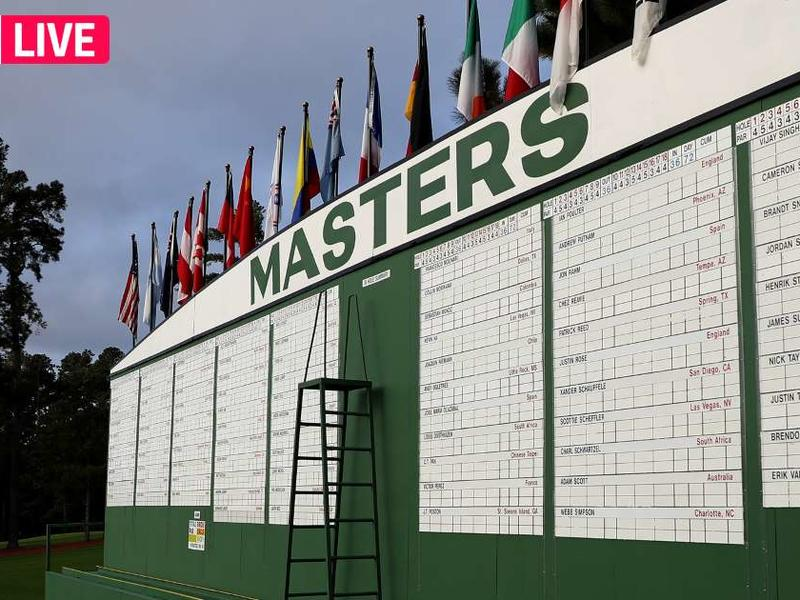Masters Leaderboard 2020 Live Golf Scores Results From Thursday S Round 1 News Break