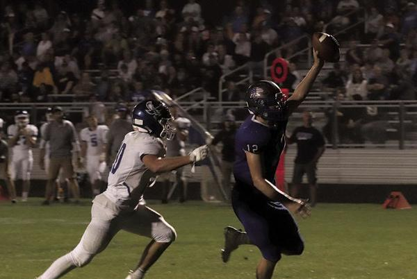 Picture for Montague football plays with fire in win over Oakridge
