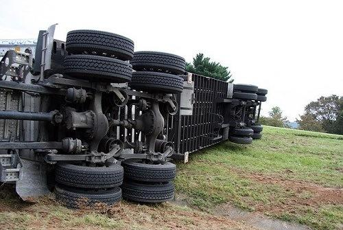 Picture for Big Rig Crash With Sedan in Elk Grove Blocks Freeway Slow Lane