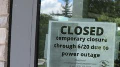 Cover for Power outage continues in Massena