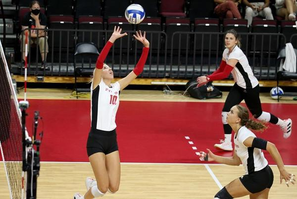 Picture for Balyko Collects 3,000th Career Assist As Volleyball Battles No. 2 Wisconsin
