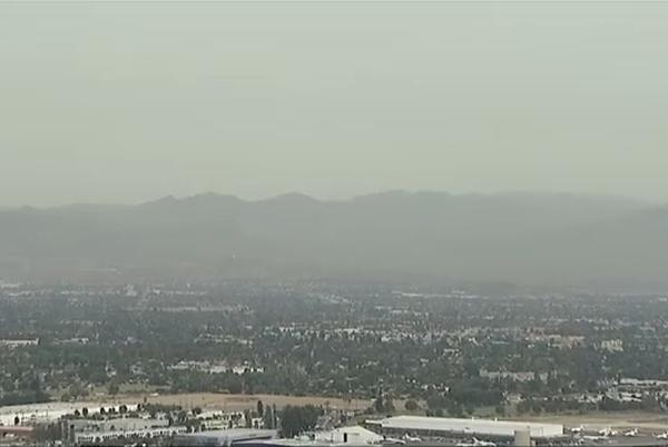 Picture for Is there a fire in LA? Northern California fire smoke moves down to SoCal, prompting questions