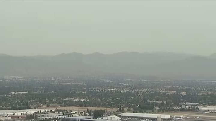 Cover for Is there a fire in LA? Northern California fire smoke moves down to SoCal, prompting questions