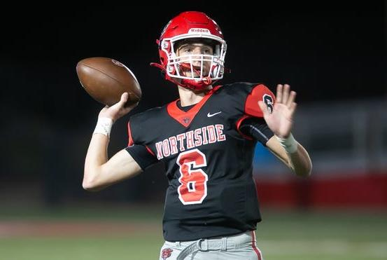 Picture for How Northside senior Walker Catsavis has handled the added responsibilities at quarterback