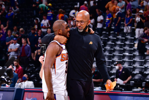 Picture for West finals? Monty Williams wants Suns to celebrate this moment first