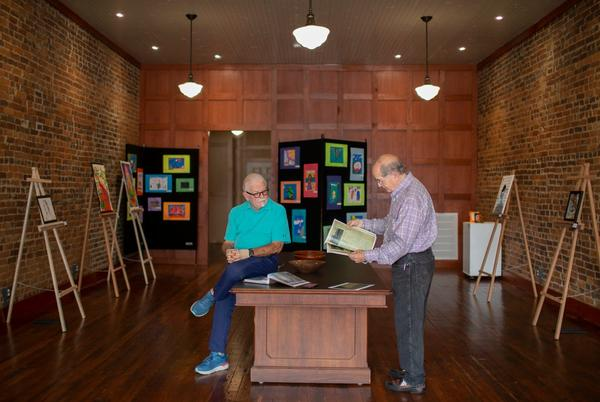 Picture for 'A grand building': Brothers return home to open art gallery in Mt. Pleasant