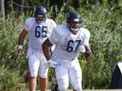 Picture for Bears' Sam Mustipher Getting Stronger Working Out With Olin Kreutz