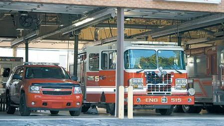 Cover for Chesterton stops fire service on I-94 to Pine Township