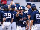 Picture for Mike Bianco rolled the dice and held Doug Nikhazy. His gamble paid off.