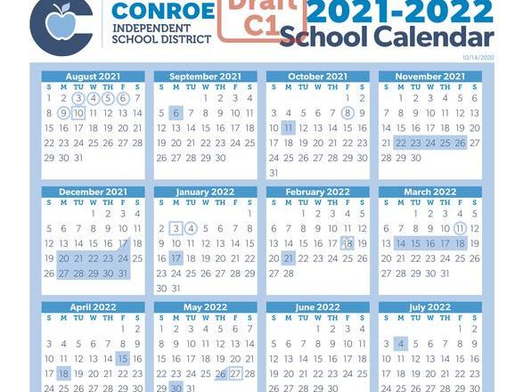 St Lucie County School Calendar 2021-2022 Conroe ISD Seeks Input on 2021 2022 School Calendar | News Break