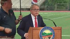 Cover for Gov. Mike DeWine 'concerned' about Ohio's COVID vaccination rates