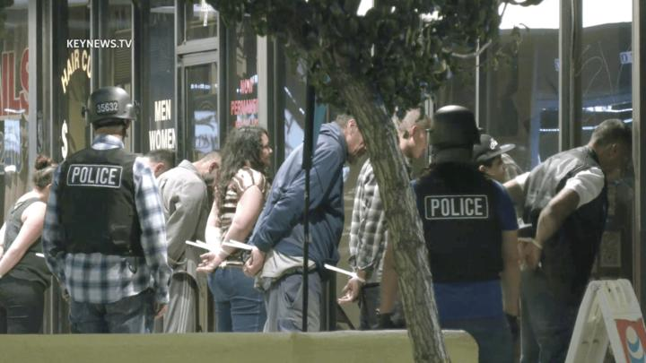 Cover for Multiple People Detained After Police Raid Illegal Sunland Casino