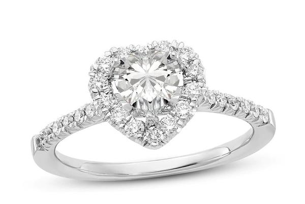 Picture for 20 Heart-Shaped Engagement Rings That Will Steal Your Heart