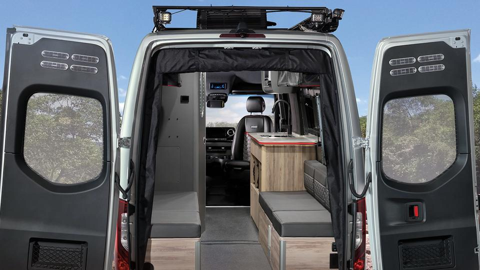 Picture for Airstream just unveiled a new $214,000 off-road camper van built on a Mercedes-Benz Sprinter -see inside the rugged RV