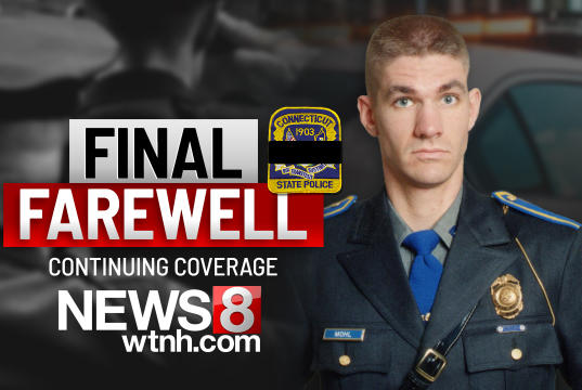 Picture for Funeral held in Hartford for fallen veteran Connecticut State Police sergeant