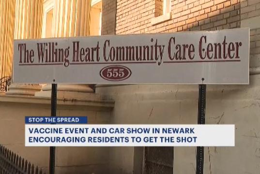 Picture for Newark holds vaccine event, electric car show to help Black, Hispanic communities get vaccinated