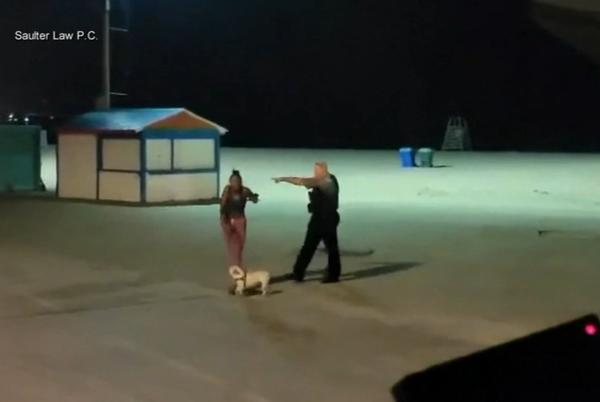 Picture for 911 call from CPD officer's altercation with Black woman at North Avenue Beach released