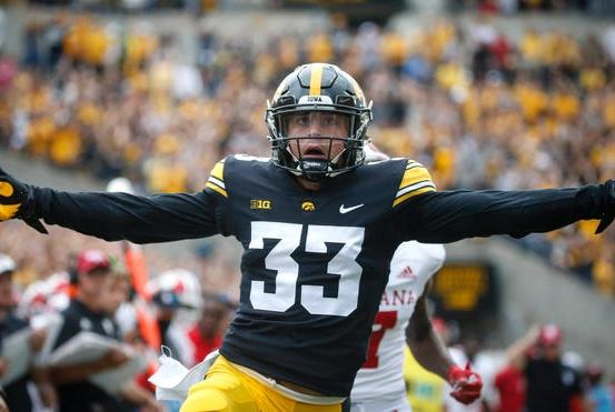 Picture for 'Lighthearted' Riley Moss leads brilliant Iowa defensive performance in blowout win over Indiana