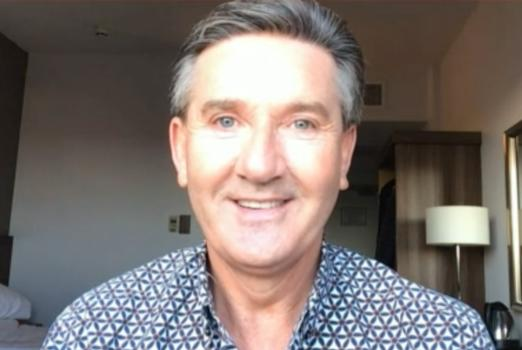 Picture for Singer Daniel O'Donnell shares that Adele knocked him off the charts after he 'copied' her album name on the Today show