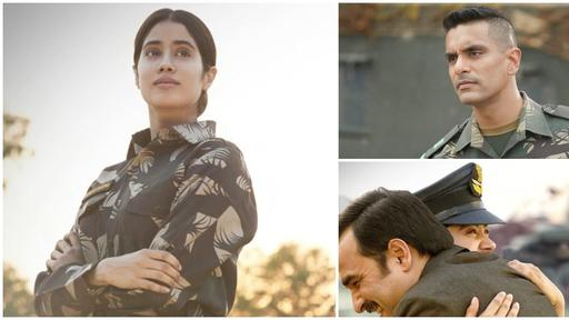 Gunjan Saxena The Kargil Girl Release Date For Netflix Janhvi Kapoor Starrer To Premiere On August 12 Check Out New Stills News Break