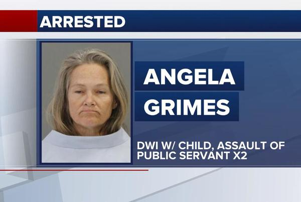 Picture for Bryan woman charged with DWI with child in vehicle and assaulting first responders