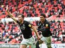 Picture for Sunderland 2-1 Lincoln City (2-3 agg): Tom Hopper scores decisive goal as Lincoln City survive scare to secure place in League One play-off final against Blackpool despite Jorge Grant missing a penalty