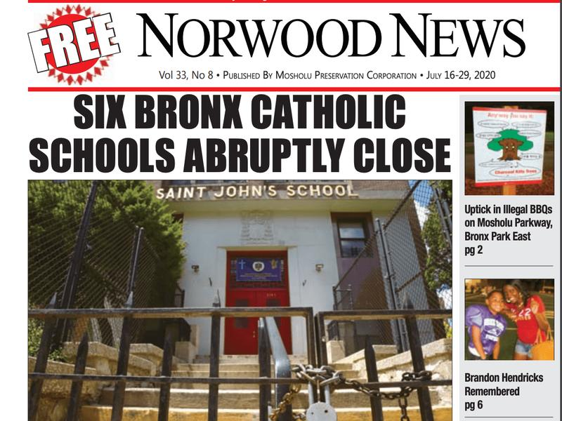 Six Bronx Schools Close Late Night Bbqs Rage And Shelter Residents Move To Times Square The Latest Edition Of The Norwood News Is Out Now News Break