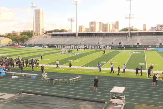 Picture for Hawaii's next home football game at new stadium will be without fans, again