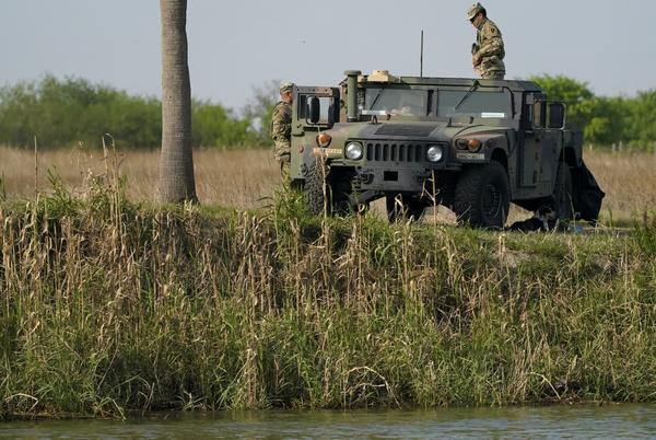Picture for Texas National Guard has arrested tens of thousands of illegal immigrants at Mexican border