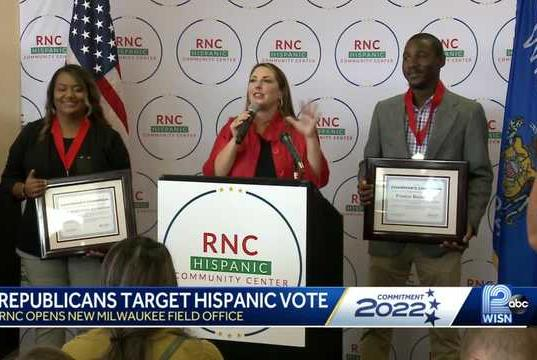 Picture for RNC chairwoman: Expect 'full-blown investment' in Wisconsin before midterms