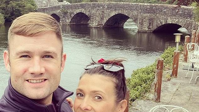 Picture for Kym Marsh is ENGAGED! Actress reveals she's set to marry her Army Major beau Scott Ratcliff after he proposed on her birthday