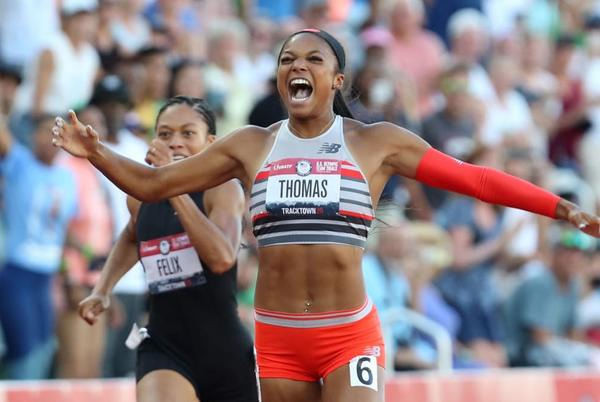 Picture for Gabby Thomas Sets a New Standard for Sprinters, On and Off the Track