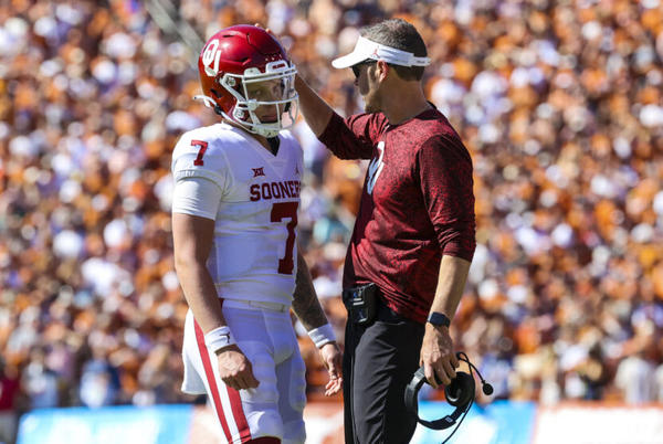 Picture for Oklahoma QB Spencer Rattler free-falling on 2022 NFL Draft boards