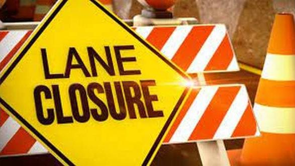 Cover for Temporary lane closures across area dams set for this week