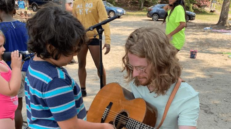 Picture for Newport Folk Fest Artists Visit Boys & Girls Club of Newport County