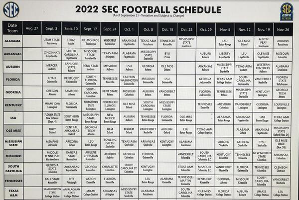Picture for Alabama Crimson Tide Announces 2022 Football Schedule