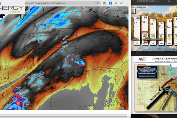 Picture for October 12 Novak Weather: Powerful storm system impacts the area Wednesday