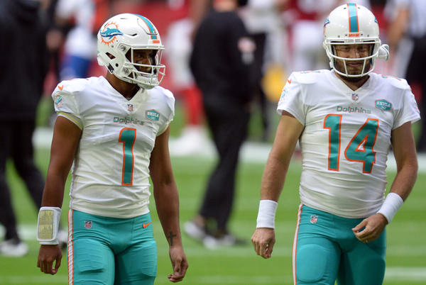 Picture for Unnamed Miami Dolphins player hits out at Tua Tagovailoa's leadership: 'It's not Fitz'
