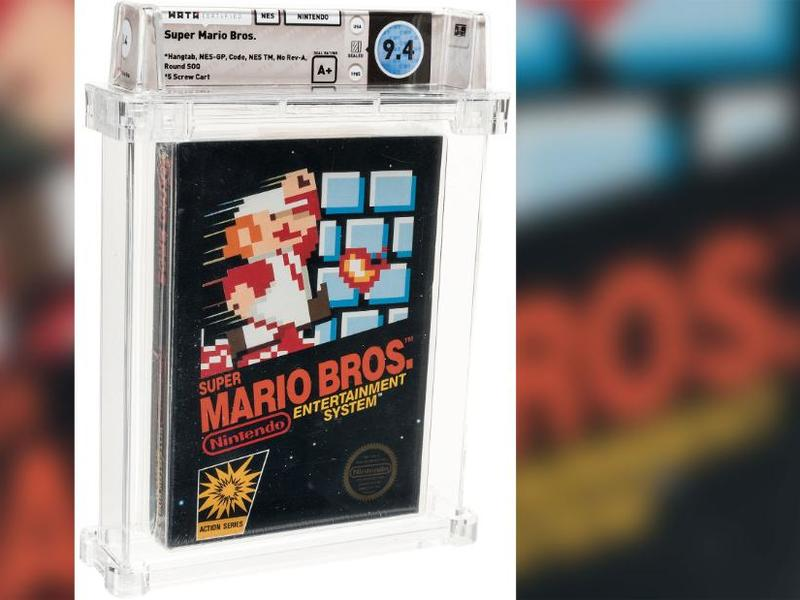 A Scarce Unopened Tremendous Mario Bros Video Clip Video Game