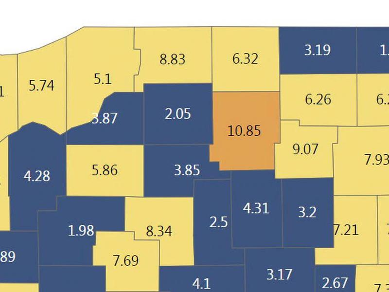 Indiana reports 841 new COVID-19 cases, 15 deaths on ...