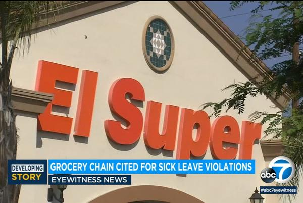 Picture for El Super grocery stores cited for COVID sick leave violations, including 21 LA County locations