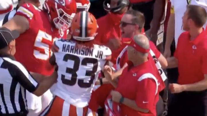 Cover for NFL Decides On Punishment For Browns-Chiefs Incident