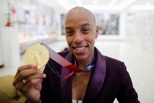 Picture for Athletics-Venezuela's Rojas targets 16-metre triple jump