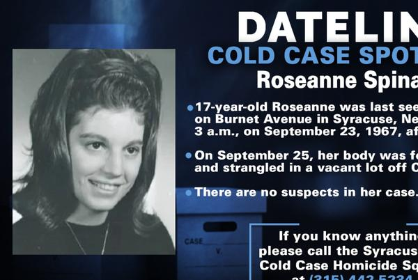 Picture for Friend of high school senior Roseanne Spina hoping for justice more than five decades after she was brutally killed