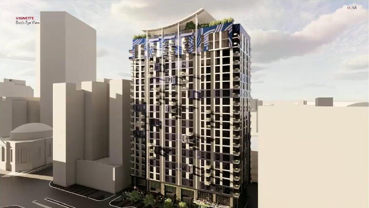 Cover for Apartment tower groundbreaking waits on property transfer