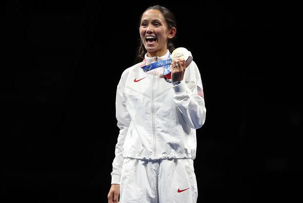 Picture for Lee Kiefer's Gold Highlights U.S. Fencing Individual Performances