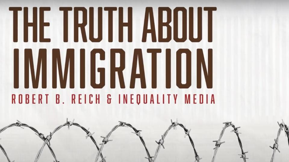 Picture for Robert Reich on the truth about the U.S. border-industrial complex